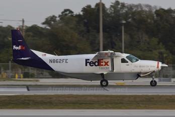 N862FE - FedEx Feeder Cessna 208 Caravan