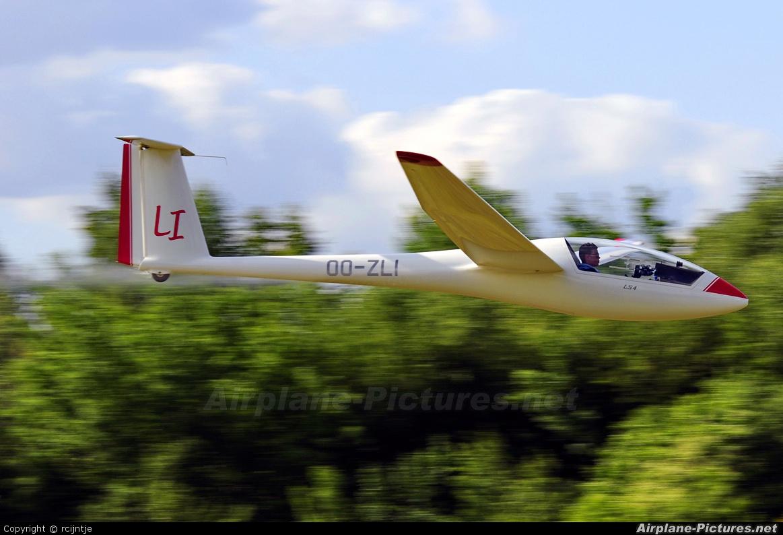 Private OO-ZLI aircraft at Hasselt (Kiewit)