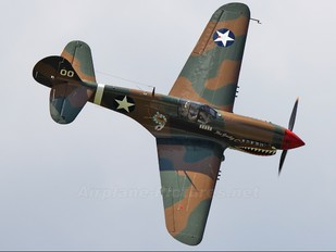 NX1232N - Private Curtiss P-40M Warhawk