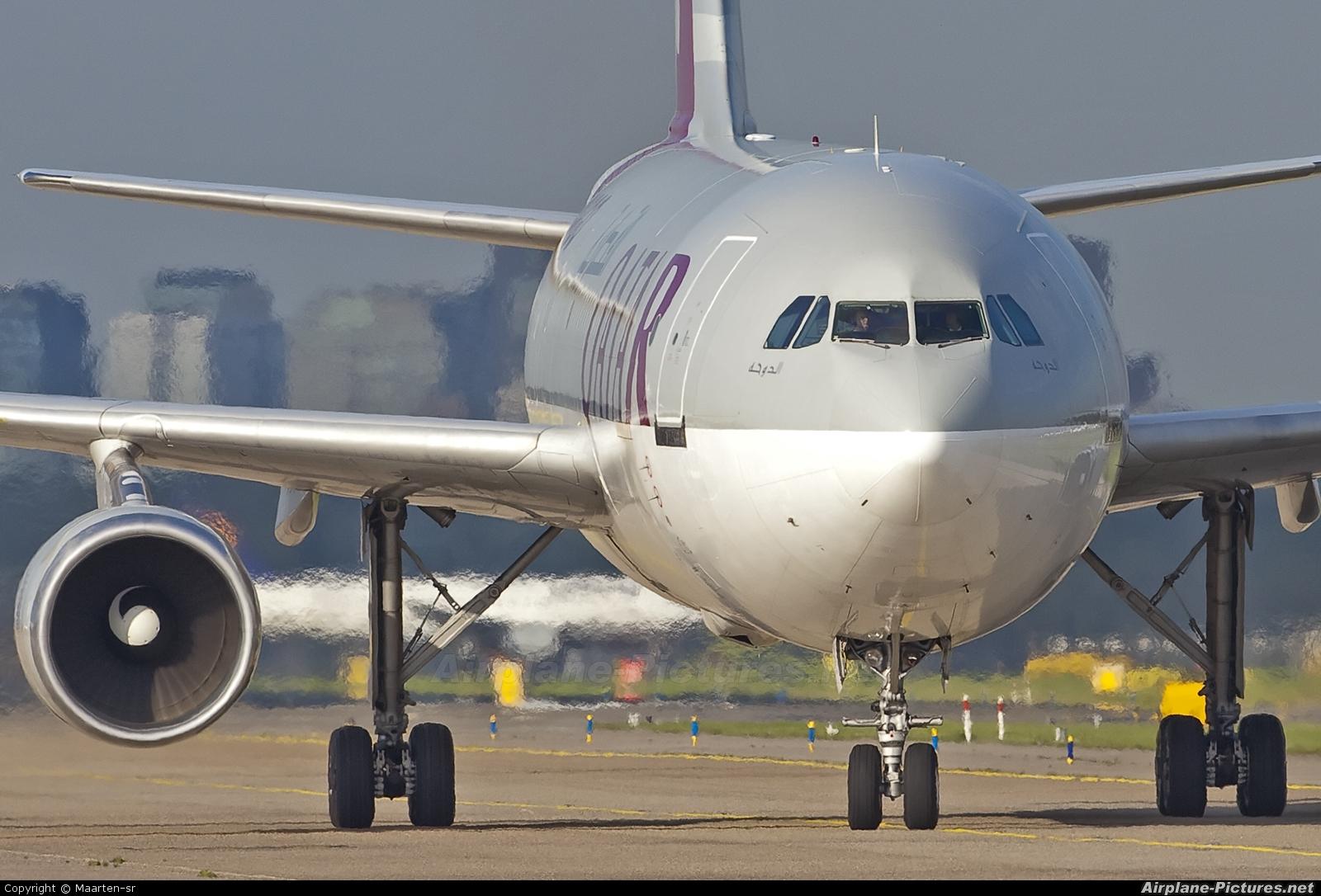 Qatar Airways Cargo A7-AFB aircraft at Amsterdam - Schiphol