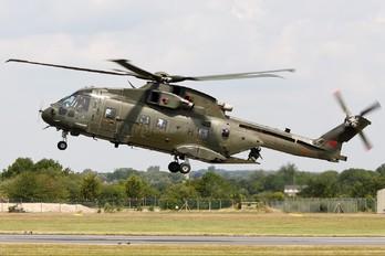ZJ124 - Royal Air Force Agusta Westland AW101 411 Merlin HC.3