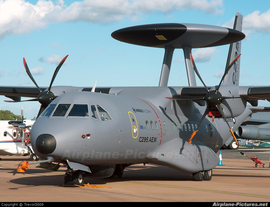Airbus Military EC295 aircraft at Fairford