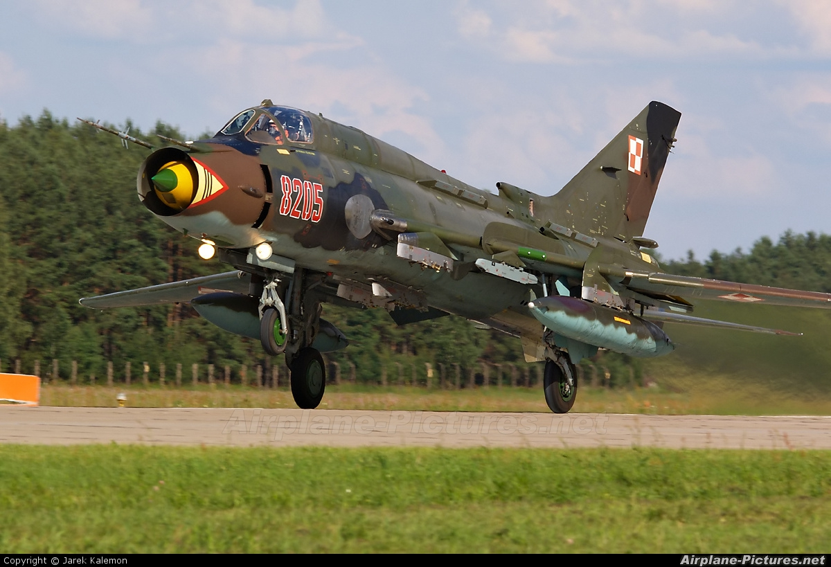Poland - Air Force 8205 aircraft at Mirosławiec