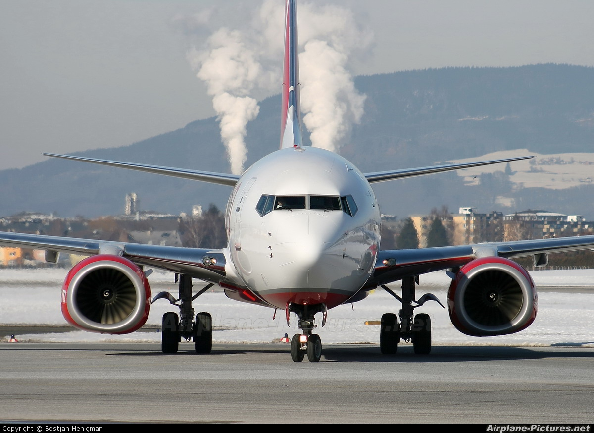 Air Berlin D-ABKN aircraft at Salzburg