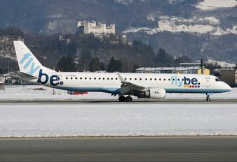 G-FBEG - Flybe Embraer ERJ-195 (190-200)