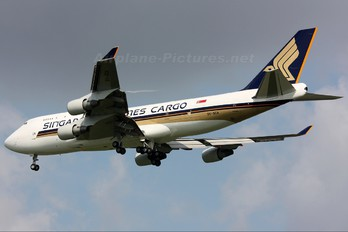 9V-SCA - Singapore Airlines Cargo Boeing 747-400BCF, SF, BDSF