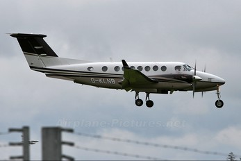 G-KLNB - Saxon Air Beechcraft 300 King Air 350