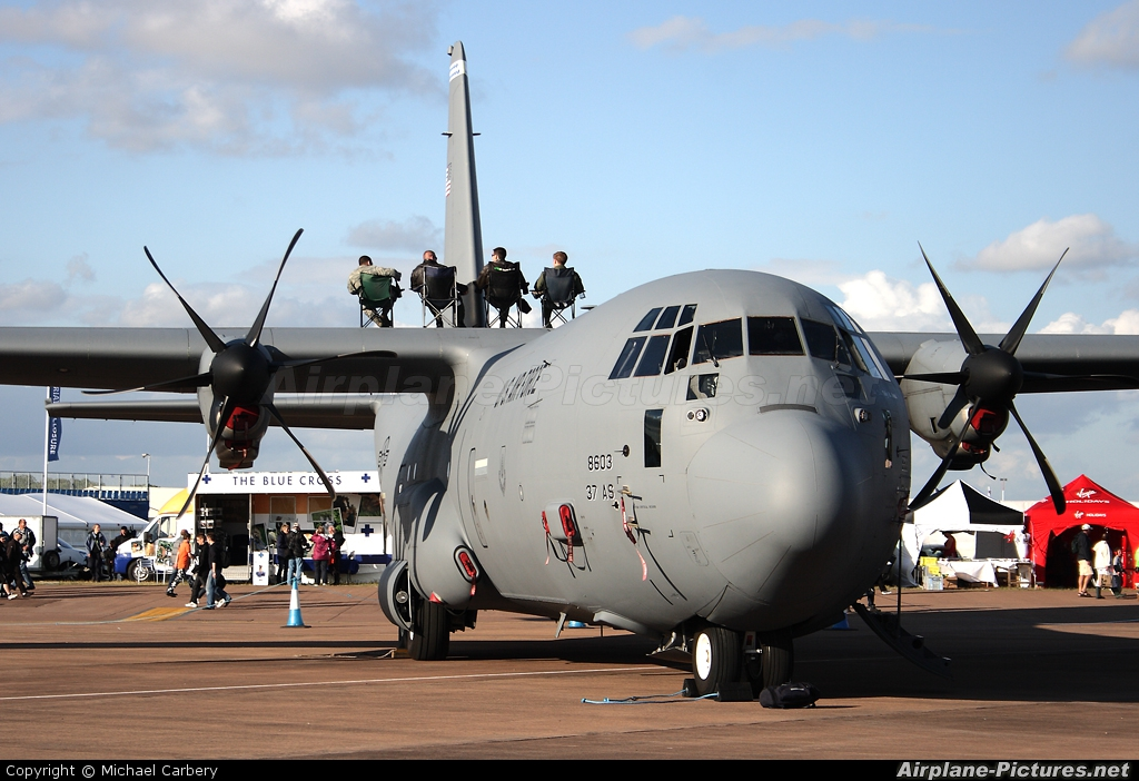 USA - Air Force 08-8603 aircraft at Fairford