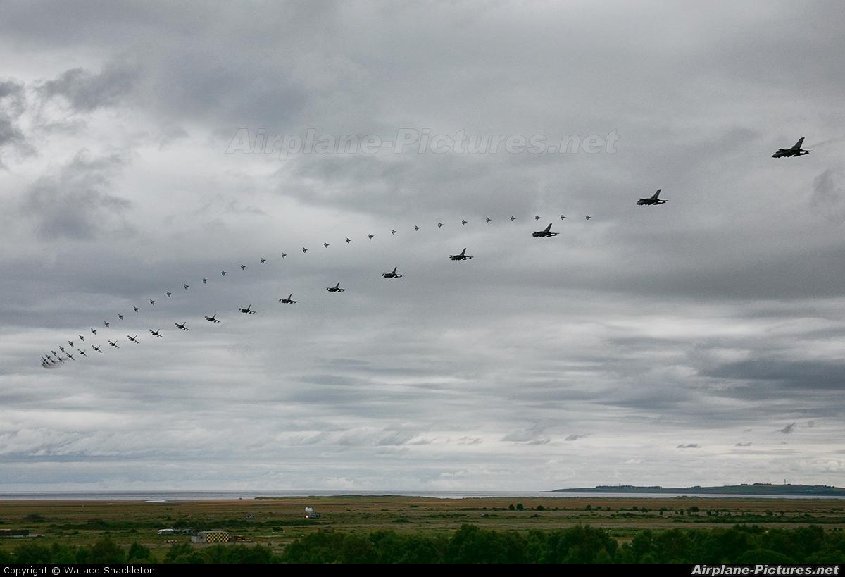 Royal Air Force - aircraft at Tain Range