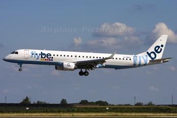 G-FBEC - Flybe Embraer ERJ-195 (190-200)
