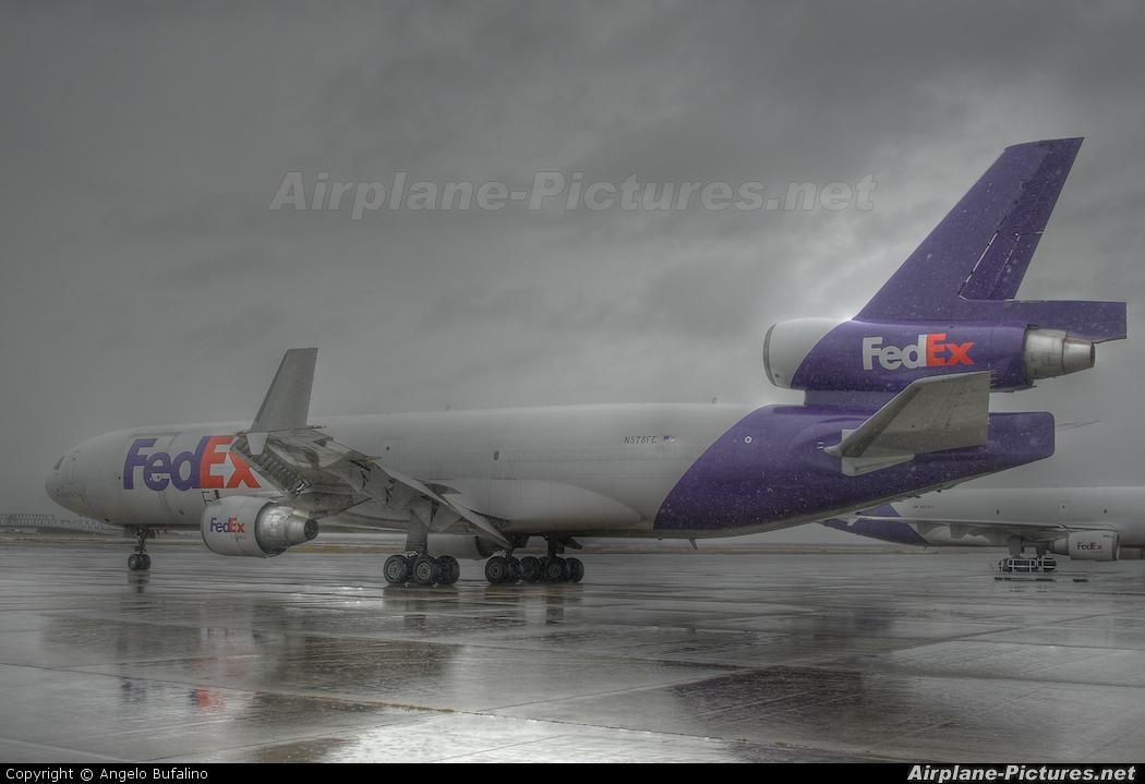 FedEx Federal Express N578FE aircraft at Kansai Intl