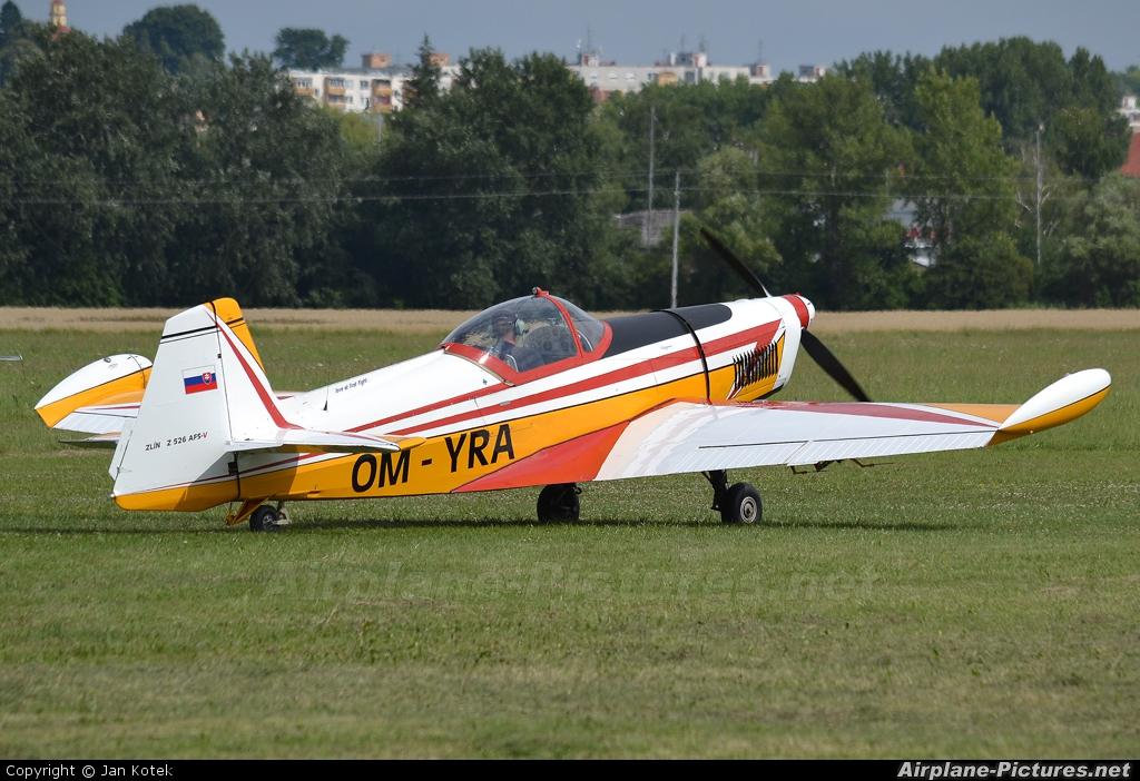 Aeroklub Trnava OM-YRA aircraft at Holic