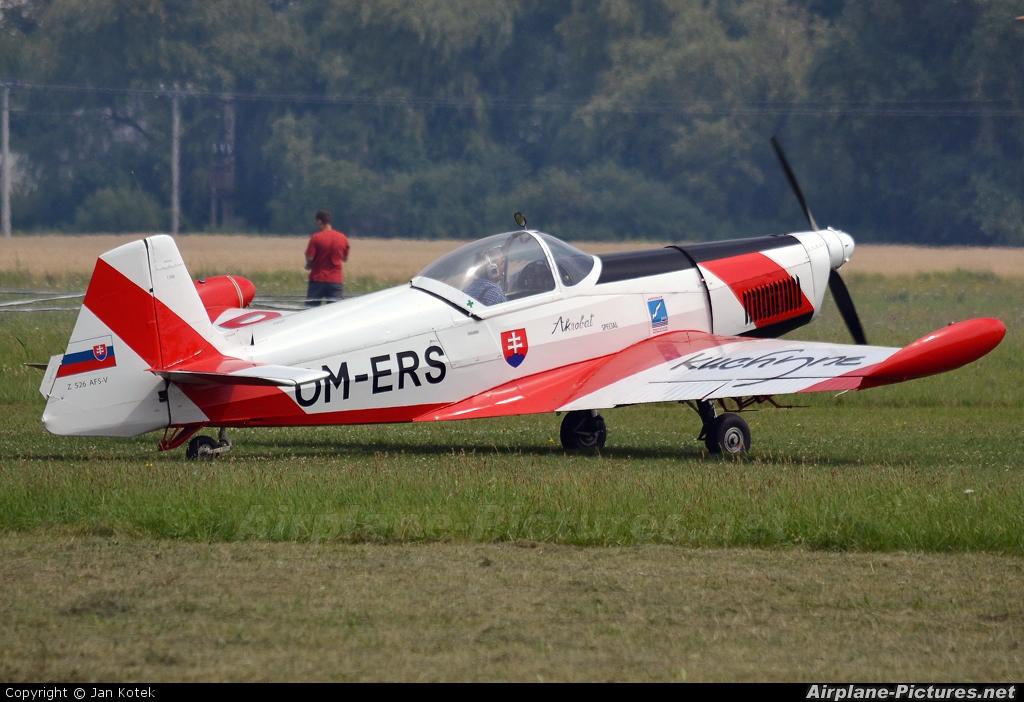 Aeroklub Bratislava OM-ERS aircraft at Holic