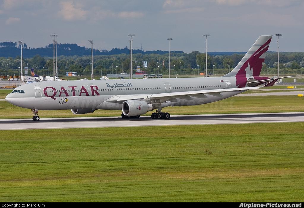 Qatar Airways A7-AEO aircraft at Munich