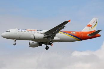 F-WWDN - Airphil Express Airbus A320