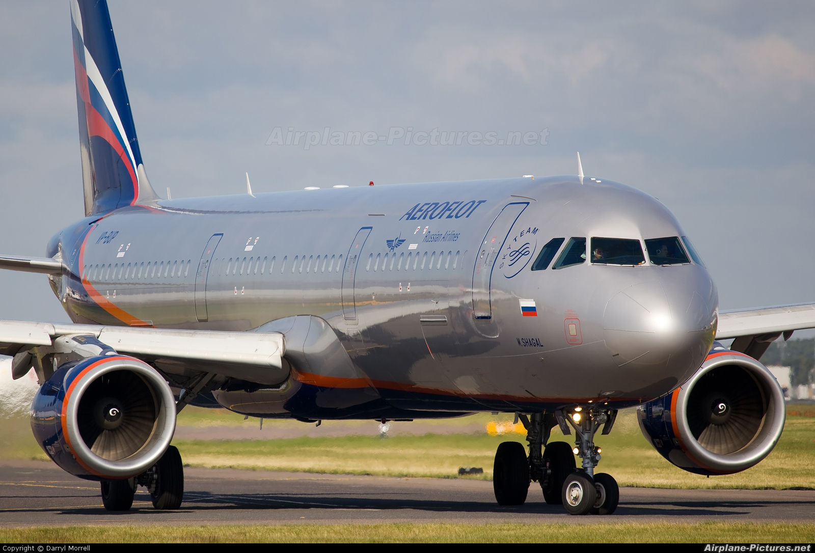 Aeroflot VP-BUP aircraft at London - Heathrow