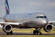 VP-BUP - Aeroflot Airbus A321 aircraft