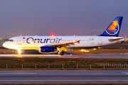 TC-OBI - Onur Air Airbus A320 aircraft