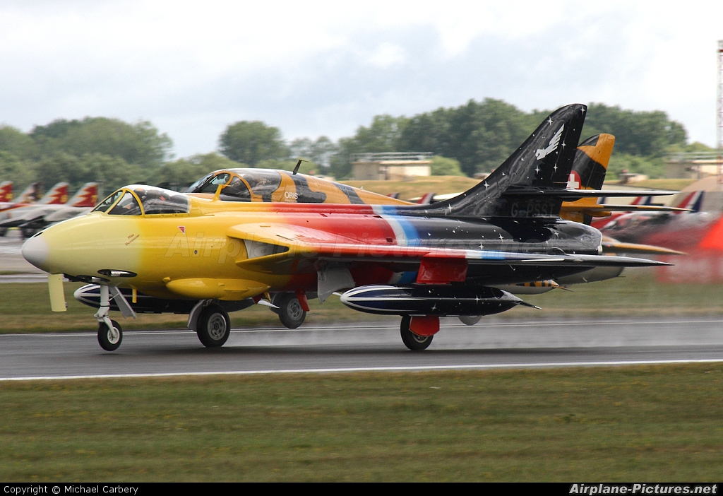 Heritage Aviation Developments G-PSST aircraft at Fairford
