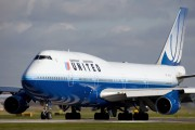 N171UA - United Airlines Boeing 747-400 aircraft