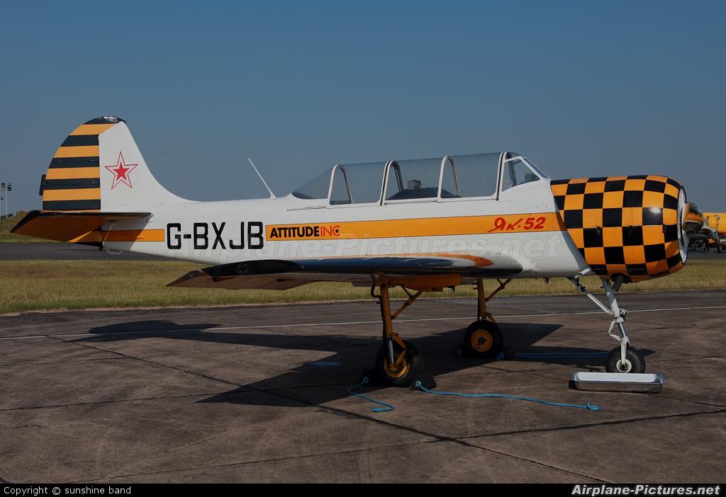 Private G-BXJB aircraft at Waddington