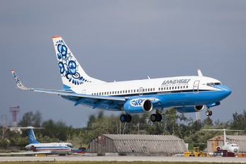 VQ-BER - Moskovia Airlines Boeing 737-700
