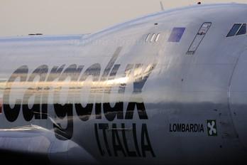 LX-KCV - Cargolux Italia Boeing 747-400F, ERF