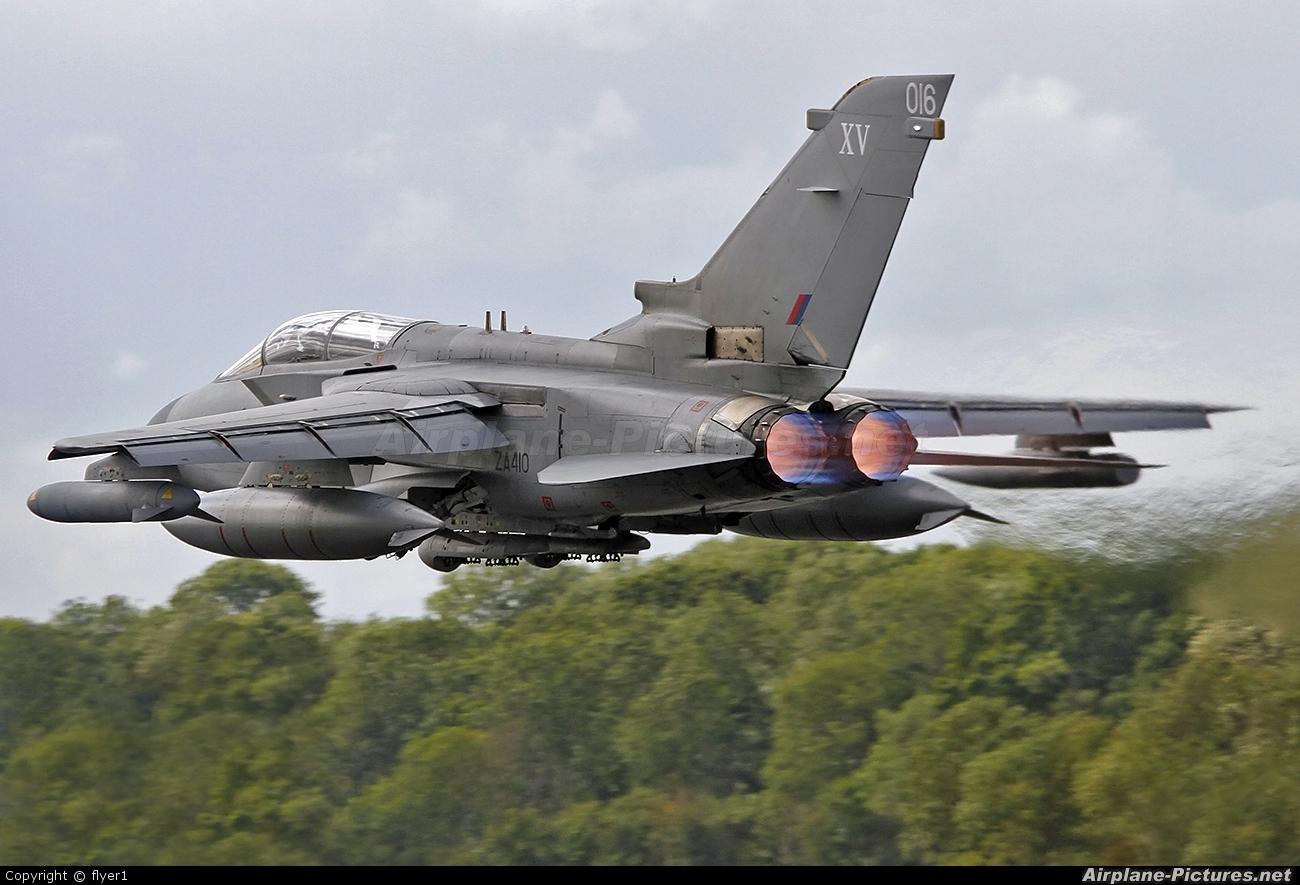 Royal Air Force ZA410 aircraft at Fairford