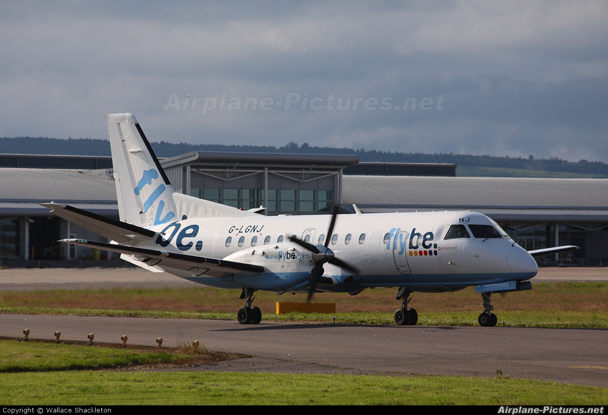 FlyBe - Loganair G-LGNJ aircraft at Inverness