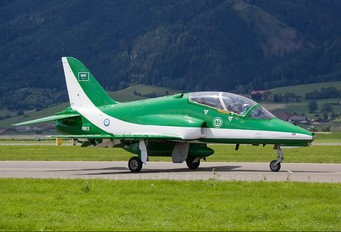 8813 - Saudi Arabia - Air Force: Saudi Hawks British Aerospace Hawk 65 / 65A