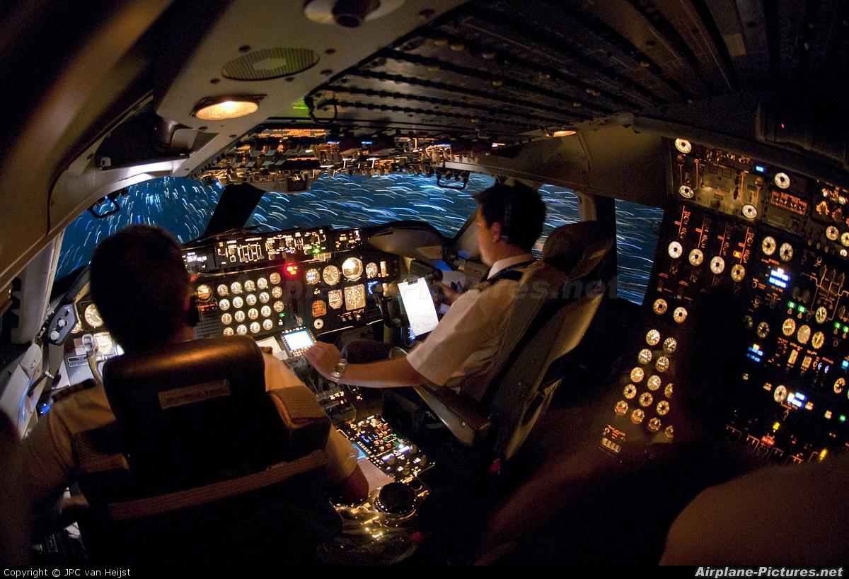 Air Atlanta Icelandic TF-AAA aircraft at Lagos - Murtala Muhammed