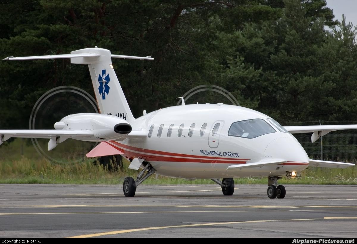 Polish Medical Air Rescue - Lotnicze Pogotowie Ratunkowe SP-MXH aircraft at Bydgoszcz - Szwederowo