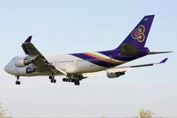 HS-TGT - Thai Airways Boeing 747-400