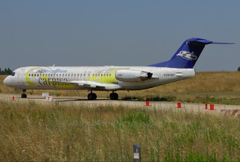 N284AP - AlpiEagles Fokker 100