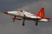 3058 - Turkey - Air Force : Turkish Stars Canadair NF-5A aircraft