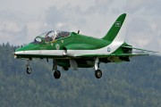 8807 - Saudi Arabia - Air Force: Saudi Hawks British Aerospace Hawk 65 / 65A aircraft