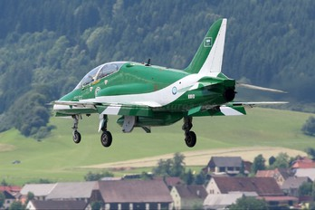 8810 - Saudi Arabia - Air Force: Saudi Hawks British Aerospace Hawk 65 / 65A