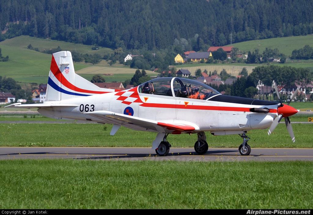 Croatia - Air Force 063 aircraft at Zeltweg