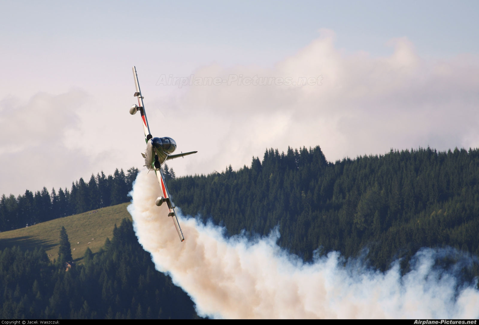 "Italy - Air Force ""Frecce Tricolori"" MM55558 aircraft at Zeltweg"