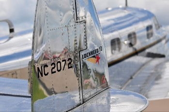 NC2072 - Private Lockheed 12 Electra Junior
