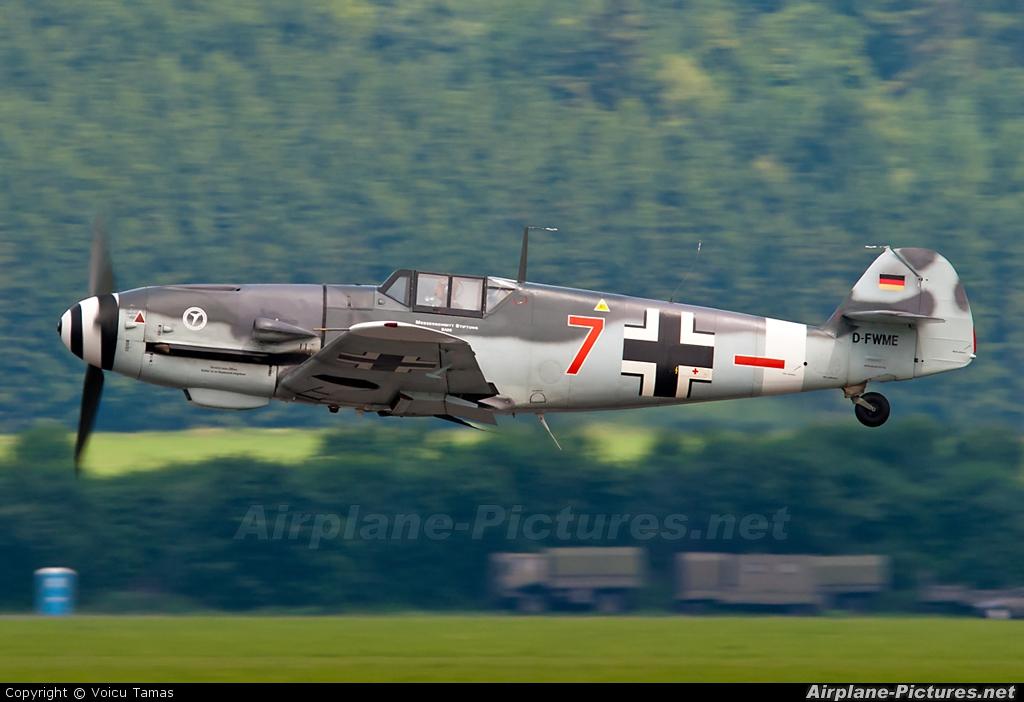 Messerschmitt Stiftung D-FWME aircraft at Zeltweg