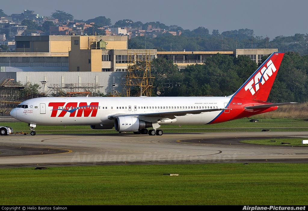 TAM PT-MSR aircraft at Rio de Janeiro/Galeão Intl - Antonio Carlos Jobim