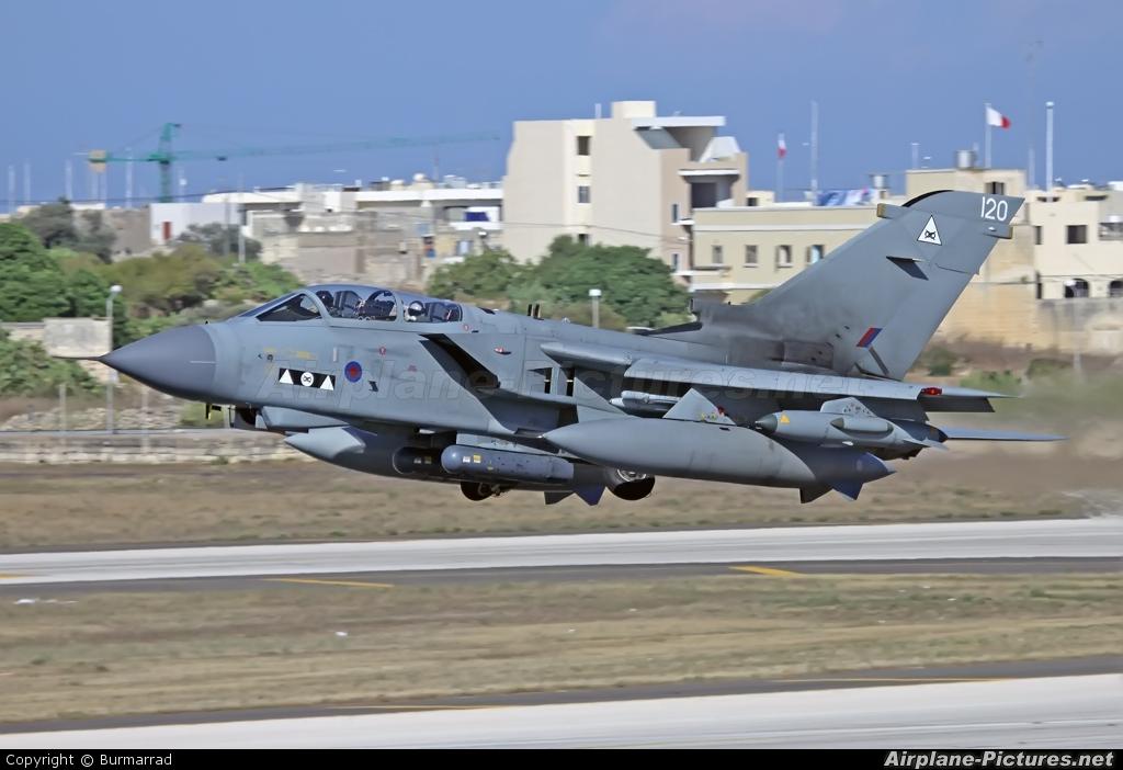 Royal Air Force ZG709 aircraft at Malta Intl