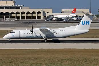 9H-AFD - United Nations de Havilland Canada DHC-8-300Q Dash 8