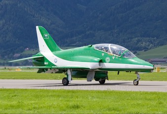 8807 - Saudi Arabia - Air Force: Saudi Hawks British Aerospace Hawk 65 / 65A