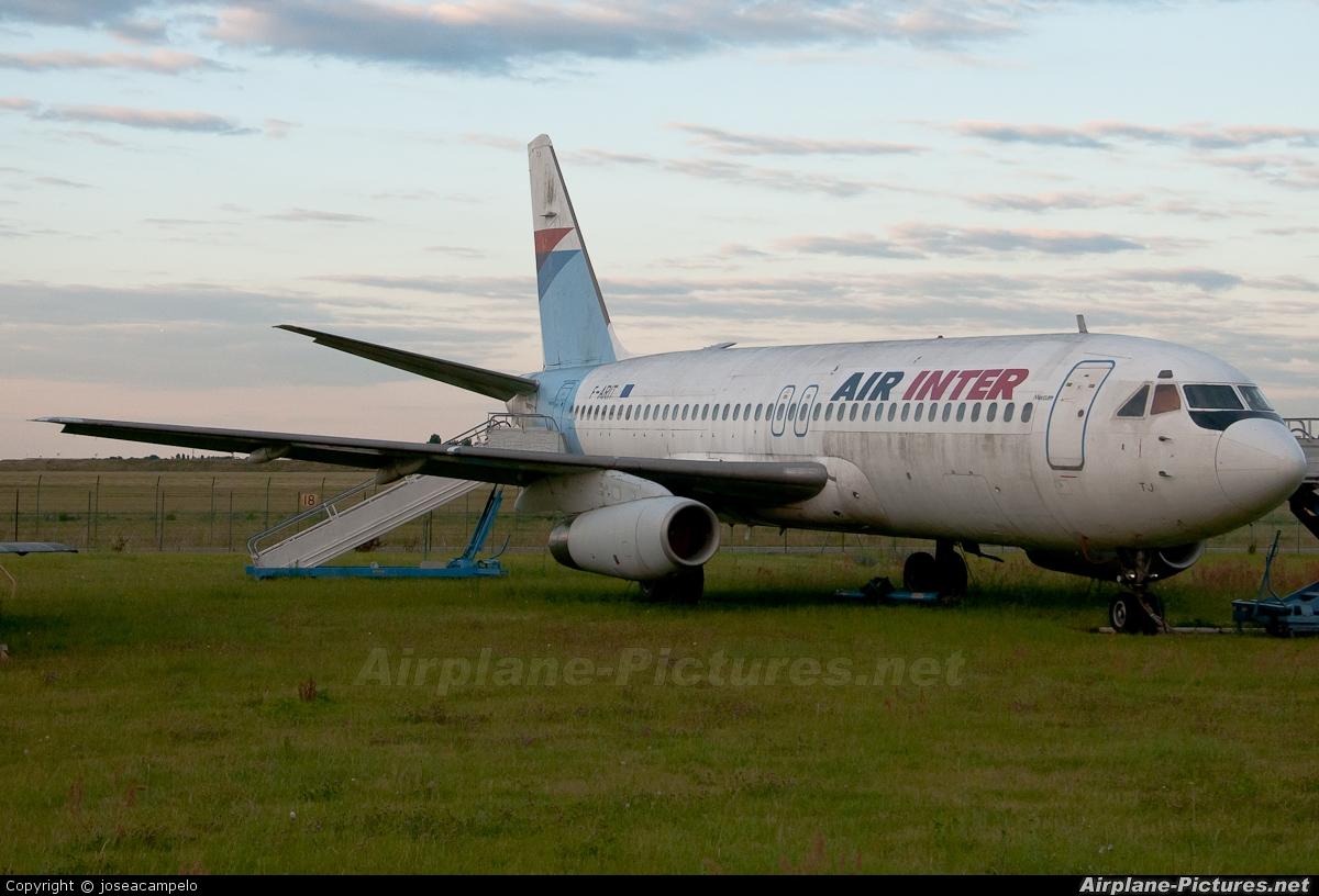 Air Inter F-BTTJ aircraft at Paris - Orly