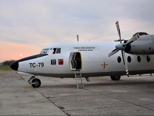 TC-79 - Argentina - Air Force Fokker F27-400 Friendship