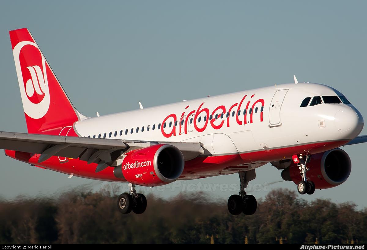 Air Berlin D-ABGK aircraft at Milan - Malpensa