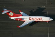 N727VJ - Kingfisher Airlines Boeing 727-40 aircraft