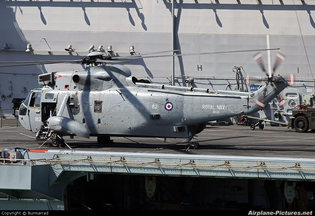 Royal Navy ZD636 aircraft at Off Airport - Malta